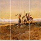 Russell Indians Living Floor Mural Room Ideas Decorating Home