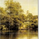 Sanchez-Perrier Landscapes Wall Tile Room Mural Home Design