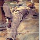 Sargent Men Backsplash Tile Kitchen Mural Home Design Renovations