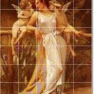 Seignac Angels Murals Backsplash Tile Decorate Renovations Home