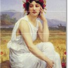 Seignac Women Mural Wall Mural Room Tiles Decorating Home Idea
