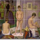 Seurat Nudes Room Wall Murals Dining Construction Contemporary