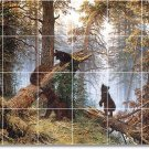 Shishkin Animals Room Murals Living Floor Idea Home Remodeling