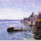 Steele Waterfront Wall Murals Dining Room Tile Modern Floor Art