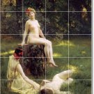 Stewart Nudes Tile Wall Murals Bathroom Modern Home Decorating