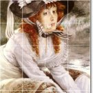 Tissot Women Murals Wall Tile Dining Room House Renovate Ideas