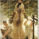 Tissot Women Murals Wall Tile Room Dining House Ideas Renovate