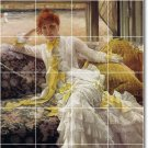 Tissot Women Dining Wall Mural Tiles Room Traditional Renovate