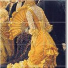 Tissot Women Dining Wall Tiles Room Mural Renovate Traditional
