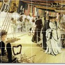 Tissot People Mural Kitchen Floor Tiles Renovation Design Home