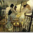 Tissot Women Tiles Shower Mural Wall Traditional Remodel House