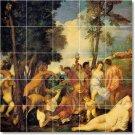 Titian Mythology Floor Room Mural Tiles Home Design Remodeling