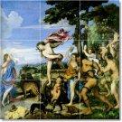 Titian Mythology Floor Room Tiles Mural Remodeling Home Design