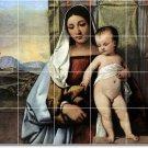Titian Mother Child Mural Floor Tiles Kitchen House Decor Decor