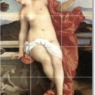 Titian Nudes Wall Living Room Mural Tiles Idea Renovation Home