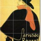 Toulouse-Lautrec Poster Art Kitchen Wall Mural Floor Design