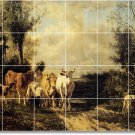 Troyon Country Murals Dining Floor Wall Room Remodel Ideas Home