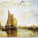 Turner Ships Wall Mural Room Tiles Living Home Modern Renovate