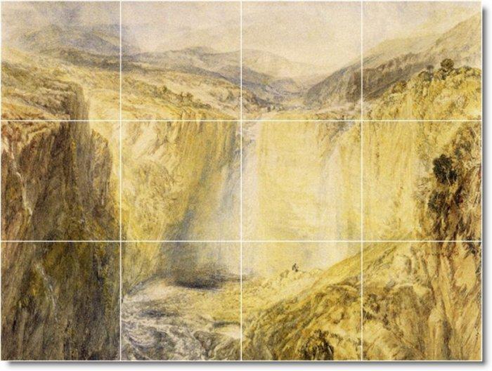 Turner Landscapes Kitchen Tile Mural Backsplash House Decor Decor