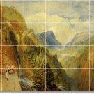 Turner Landscapes Shower Tile Bathroom Wall Modern Interior Decor