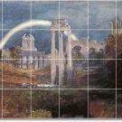 Turner Landscapes Mural Tile Kitchen Residential Renovations Idea