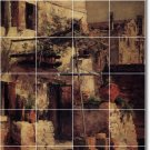 Twachtman City Wall Wall Room Living Murals Remodel Residential