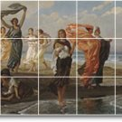 Vedder Nudes Tiles Living Room Wall Mural Home Remodeling Idea