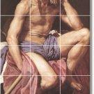 Velazquez Mythology Mural Floor Tiles Bedroom Home Decor Design