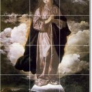 Velazquez Religious Tiles Bedroom Floor Mural Decor Home Design