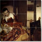Vermeer Women Dining Mural Tile Wall Room House Remodel Modern