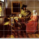 Vermeer Men Women Living Tile Room Murals Renovation Design House