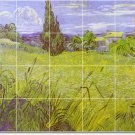 Van Gogh Country Dining Murals Wall Floor Room Design Interior