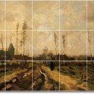 Van Gogh Landscapes Wall Tile Bathroom Murals Shower Modern Art