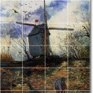 Van Gogh Country Dining Room Tile Murals Wall Modern Art Floor