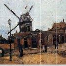 Van Gogh Country Dining Room Wall Tile Murals Floor Modern Art
