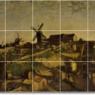 Van Gogh Country Dining Room Murals Tile Wall Art Modern Floor