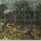 Van Gogh Country Wall Tiles Room Mural Living Remodel Home Art