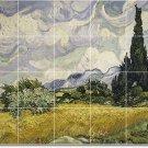 Van Gogh Country Wall Tiles Mural Living Room Remodel Art Home