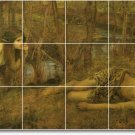 Waterhouse Landscapes Mural Wall Room Tiles Renovate Commercial