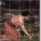 Waterhouse Women Floor Mural Tiles Bedroom Floor Design Modern