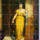 Waterhouse Women Dining Room Wall Mural Tile Remodeling Modern