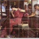 Waterhouse Men Women Dining Tiles Room Mural Decor House Remodel