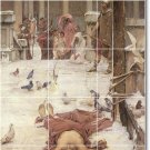 Waterhouse Mythology Kitchen Murals Modern Construction Interior