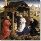Weyden Religious Tile Shower Wall Idea Renovations Design Home