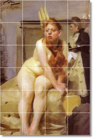 Zorn Nudes Wall Floor Room Murals House Decor Renovations Ideas