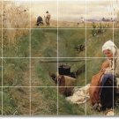 Zorn Country Tiles Wall Room Mural Mural House Decorating Idea