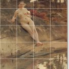 Zorn Nudes Dining Room Mural Tile Ideas House Renovations Decor