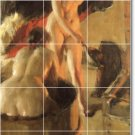 Zorn Nudes Dining Mural Room Tile Ideas Renovations House Decor