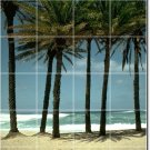Beach Photo Room Wall Tile Murals Contemporary Interior Renovate