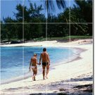Beach Photo Backsplash Kitchen Mural Wall Tile Decor Modern Home